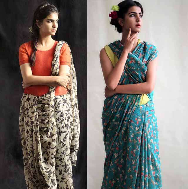 Indian traditional saree trend