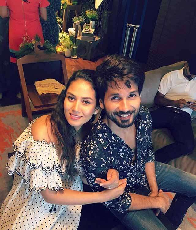 Shahid become father again