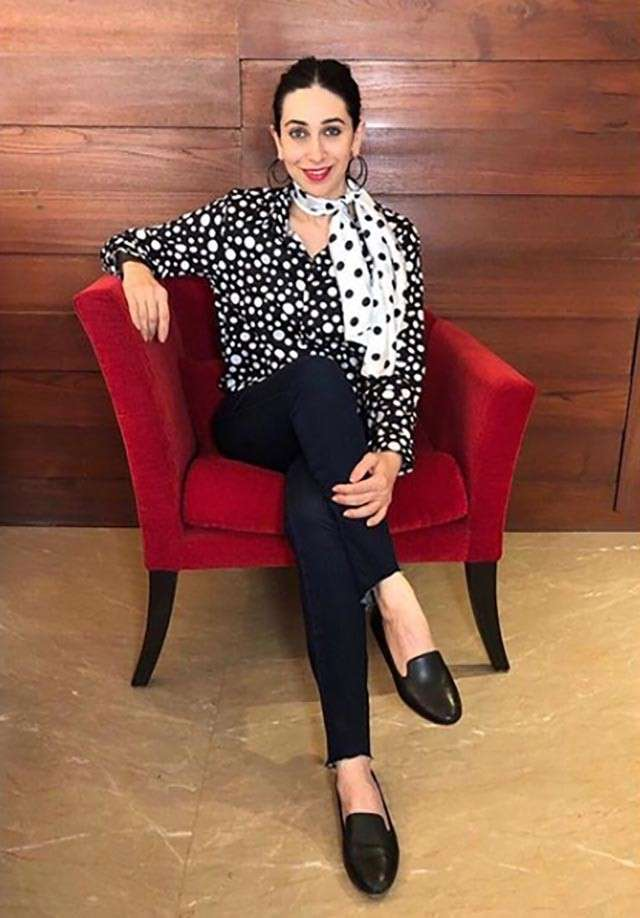 Karishma Kapoor is showing her love with the print