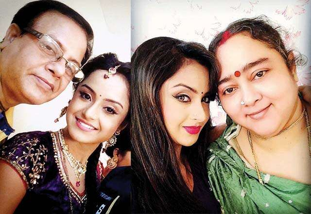 TV Actress Ishita Ganguly on family and relationship with family photograph