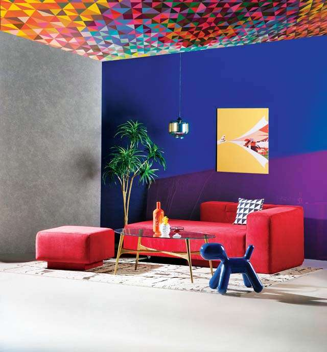 New shades and geometrical designs for Home décor