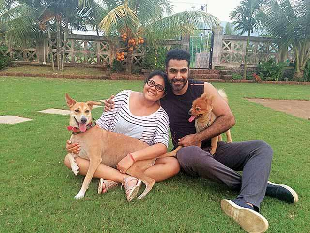 TV Actress Aditi Sharma Ved on family and relationship with family photograph