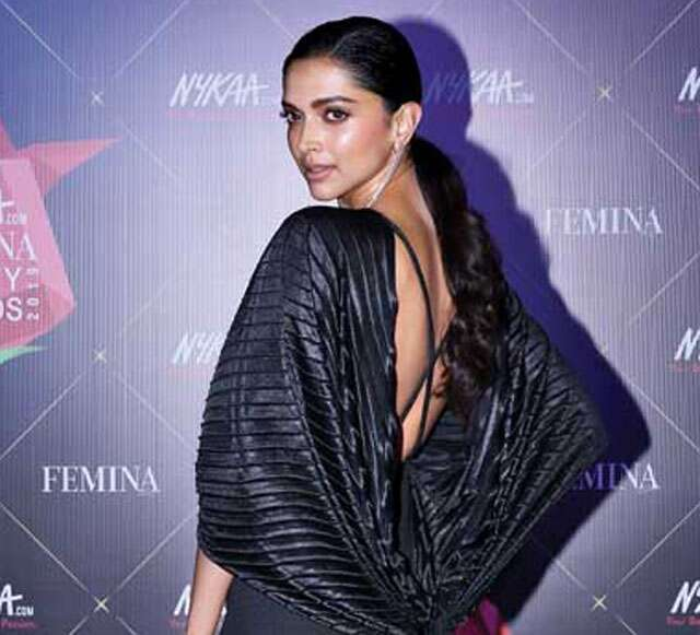 Deepika Padukone's sleek hairstyle