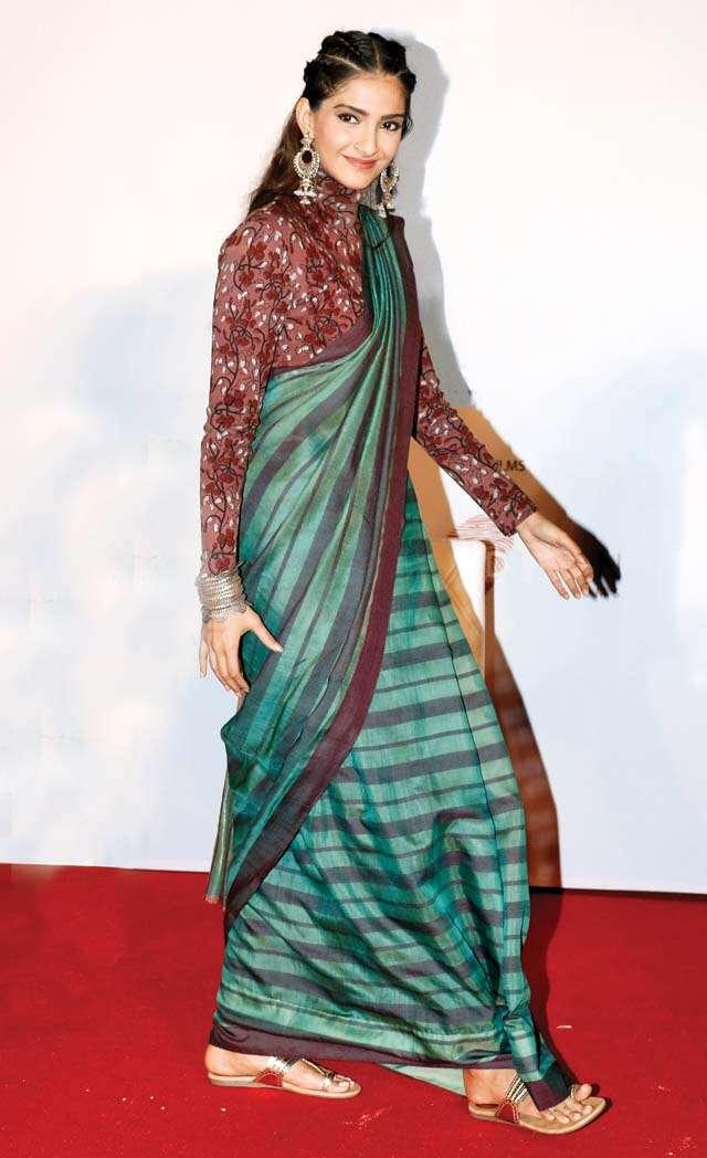 Bohemian braids like Sonam Kapoor Ahuja