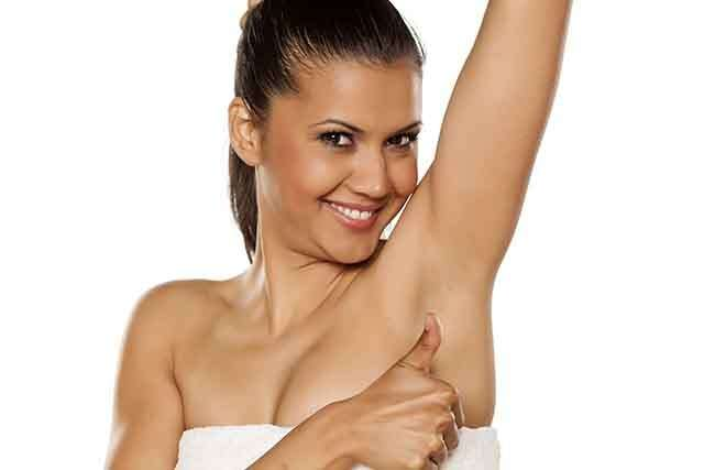 How to get rid of black underarms?