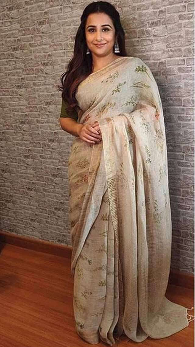 how strong connection between Sari and Vidya Balan?