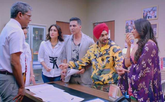 Review of Akshay Kumar and Karina Kapoor's film Good Newwz