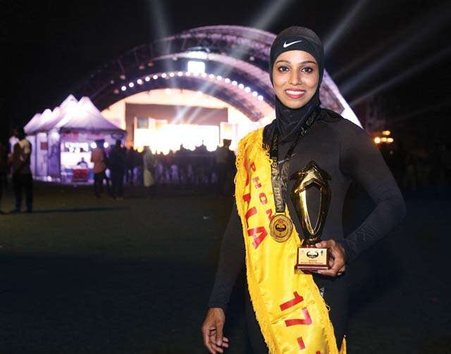 Majiziya Bhanu: Hijab wearing Body builder