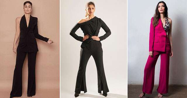 Add glamor in paly with pantsuits