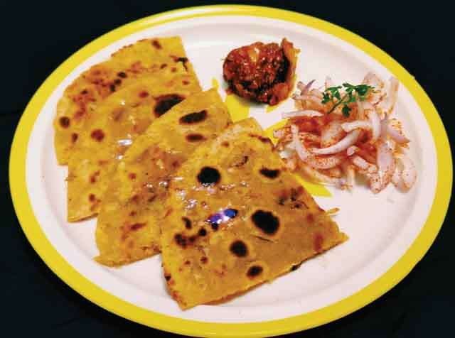How to make mooli parantha?