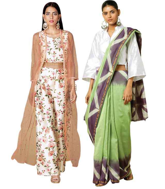 give trendy twist to your ethnic wear