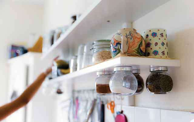 how to increase kitchen storage space?