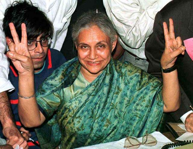 Sheila Dixit how she changed infrastructure of Delhi