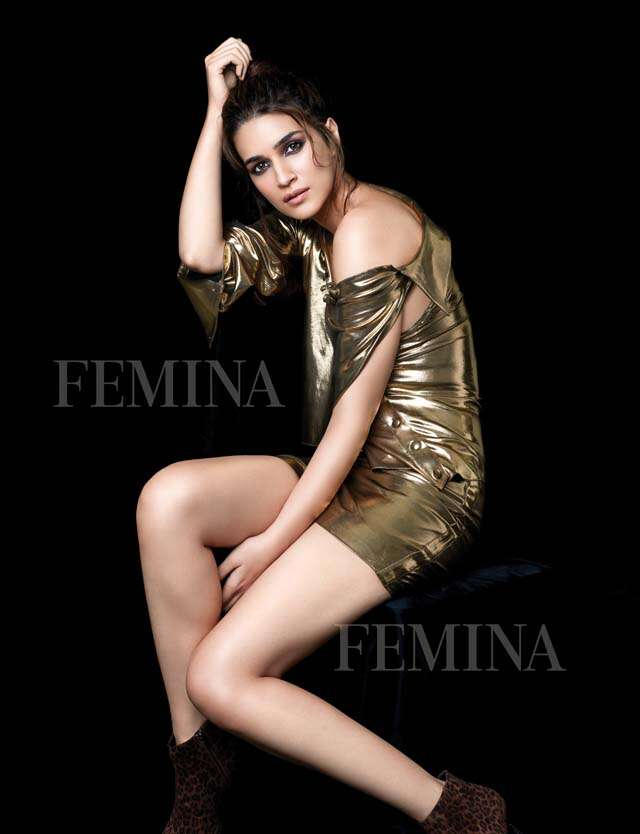 Kriti Sanon on Busy year, different genre films and feeling