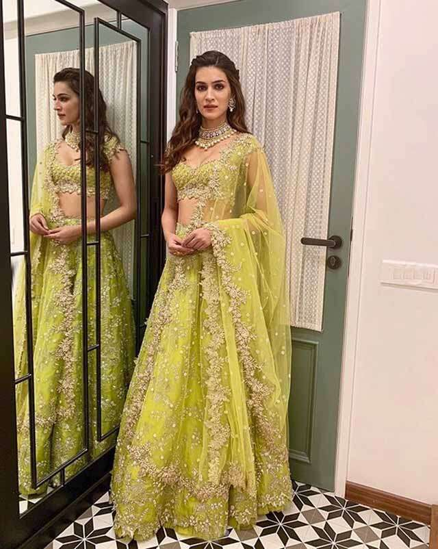 for lehenga look take some tips from Kiara and kriti