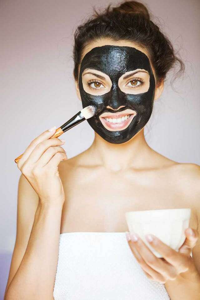 What does charcoal do to your face?