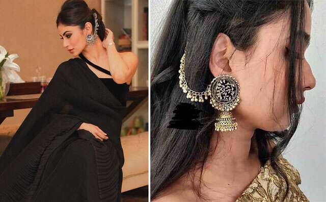 surely include these earrings in your bridal bag