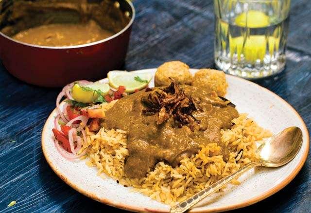 Parsi food culture with mutton dhansak recipe