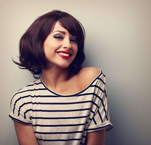 How to cut your hair short?