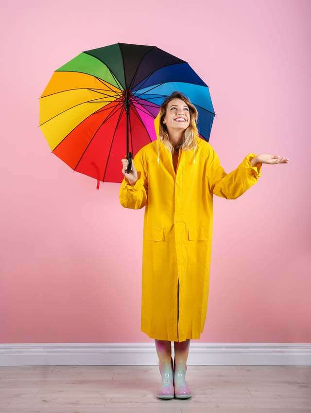 Go stylish in rainy season