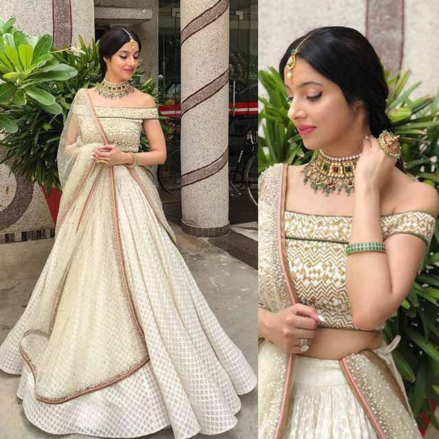 Take tips for bridal look from Divya khosla kumar look's