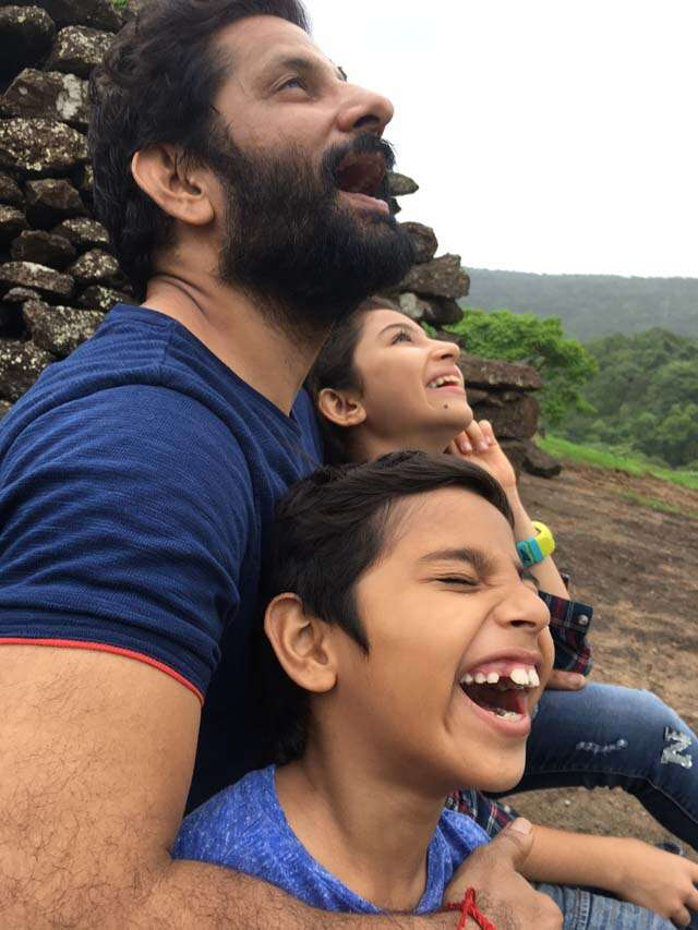 Actor Raj Arjun's letter to his daughter on Father's day
