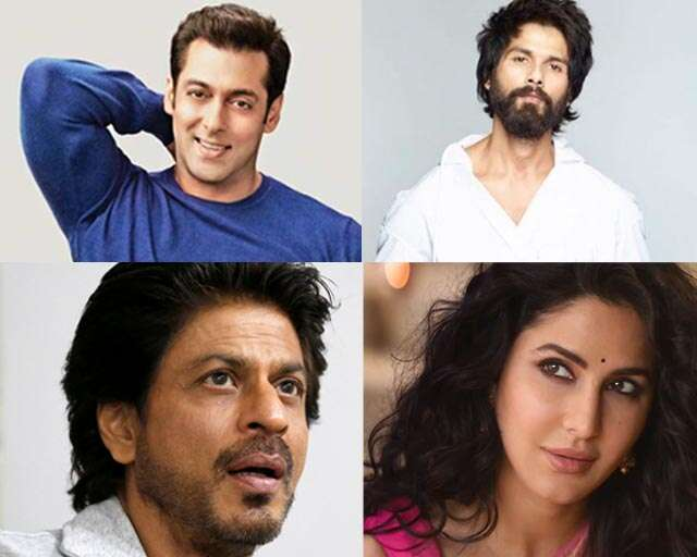 Shah Rukh, Salman, Shahid and Katrina on their Father