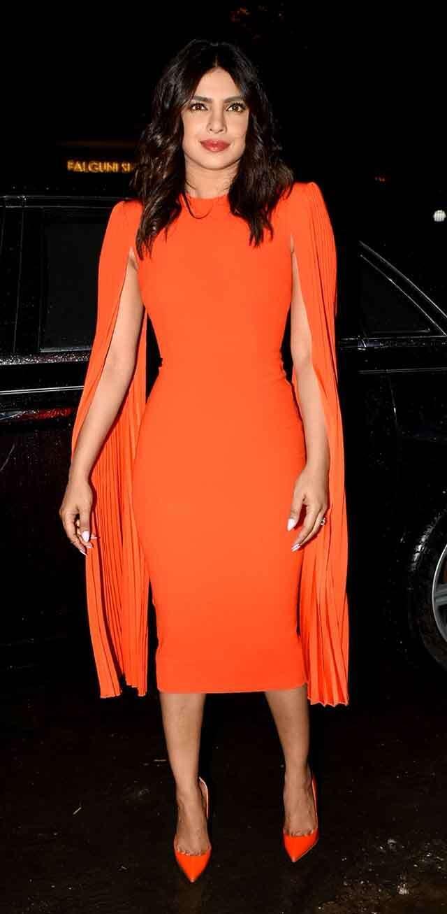 Try orange Colour like Bollywood celebs