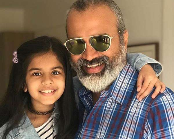 Actor Bijay Anand's letter to his daughter on Father's day