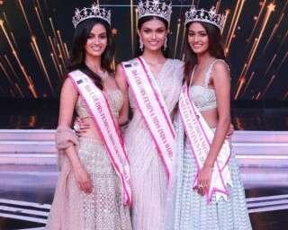 जानें, कौन हैं एफ़बीबी फ़ेमिना मिस इंडिया 2019 की विजेताओं को