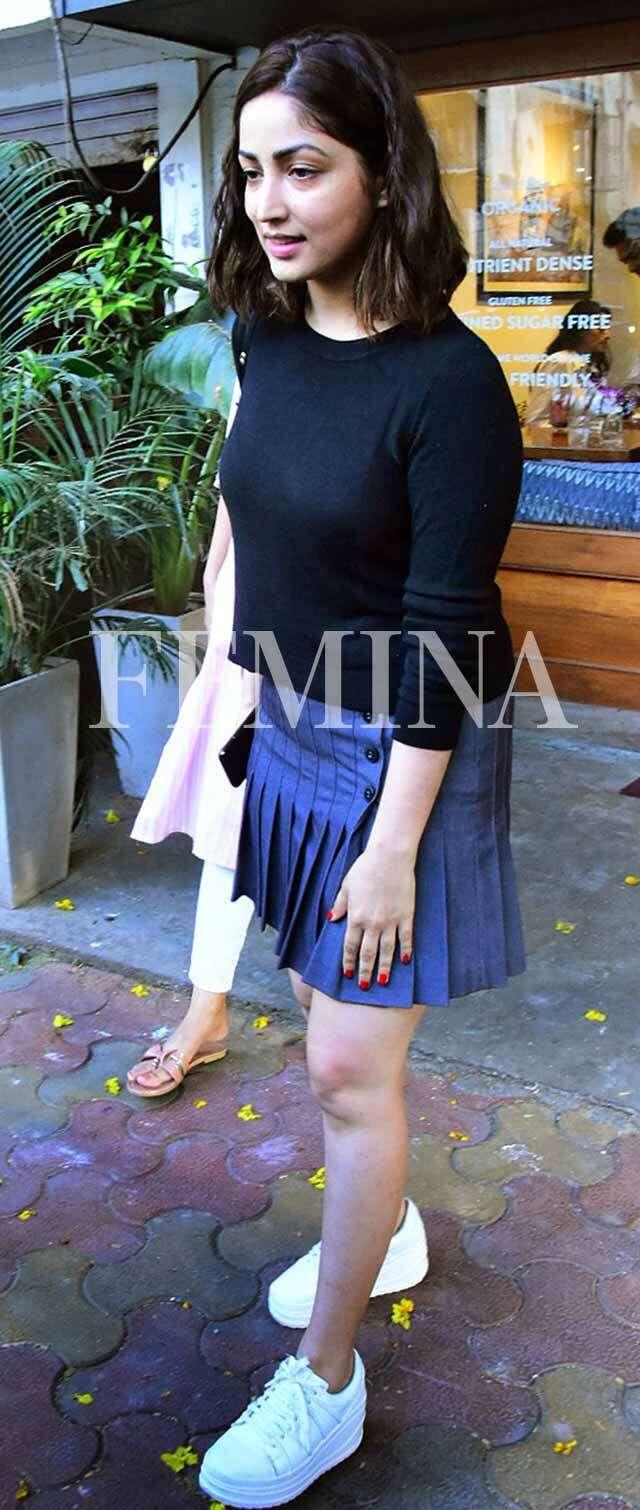Denim skirts are best option for monsoon season