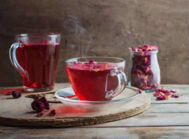 Rose tea for quick weight loss