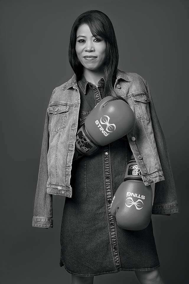 MC Mary Kom, woman with a Golden Punch