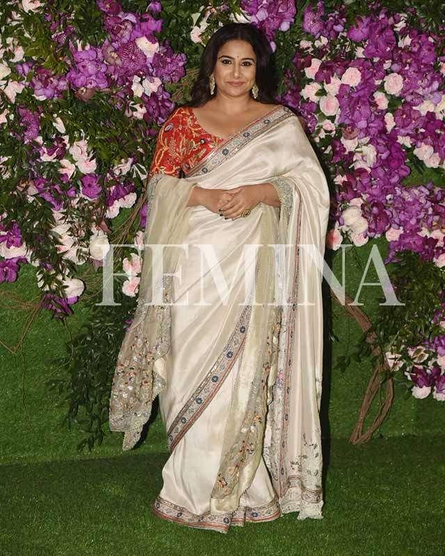 Celeb Sari style for summer season