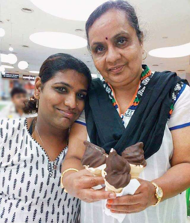 Transgender Amrita got new mother