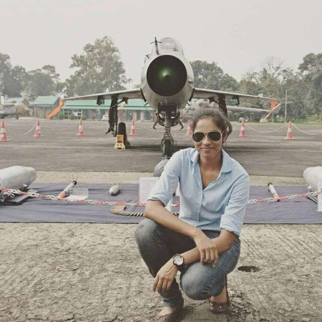 Who is Fighter Pilot Bhawana Kanth?