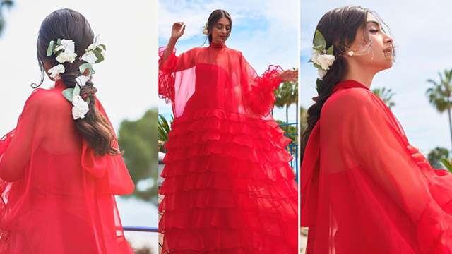 Sonam Kapoor's Royal look in Cannes