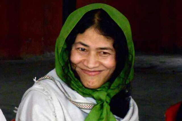 Irom Sharmila became mother of twin girls on mother's day