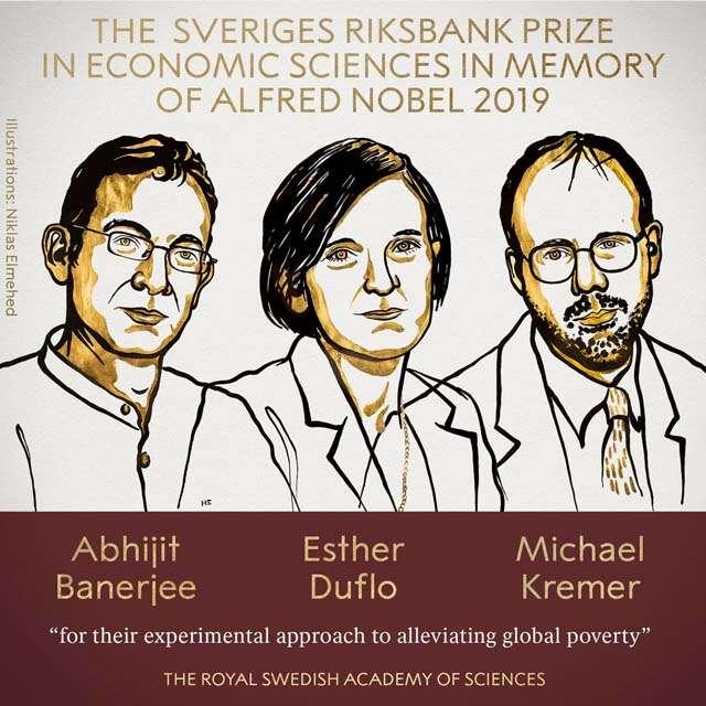 Indian-American origin Abhijeet got nobel prize