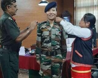 सेना में लेफ़्टिनेंट कर्नल बननेवाली पहली अरुणाचली महिला पोनूंग डोमिंग से मिलें