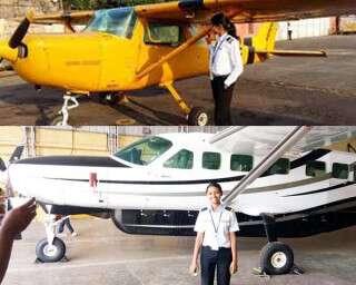 उस ज़िले की लड़की पायलट बन गई, जहां रेलवे लाइन तक नहीं है