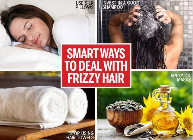 How to handle your frizzy hair?