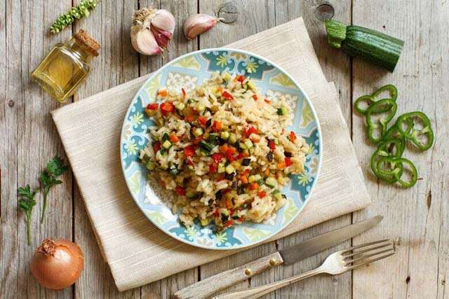 Try healthy recipe: Dalia vegetable risotto