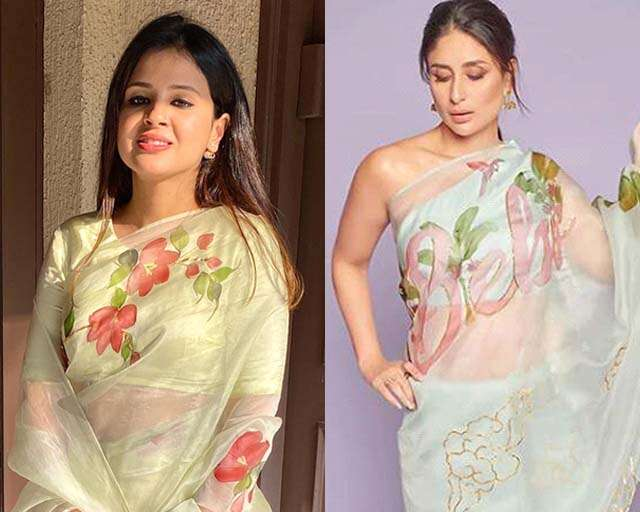 Hand painted sarees will set trends