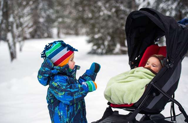 How to take care of baby's skin in winter
