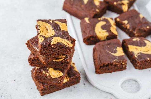 peanuts butter and brownie recipe