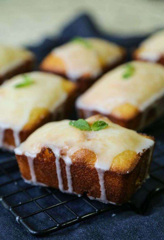 Try coconut cake and lemon drizzle for tea time
