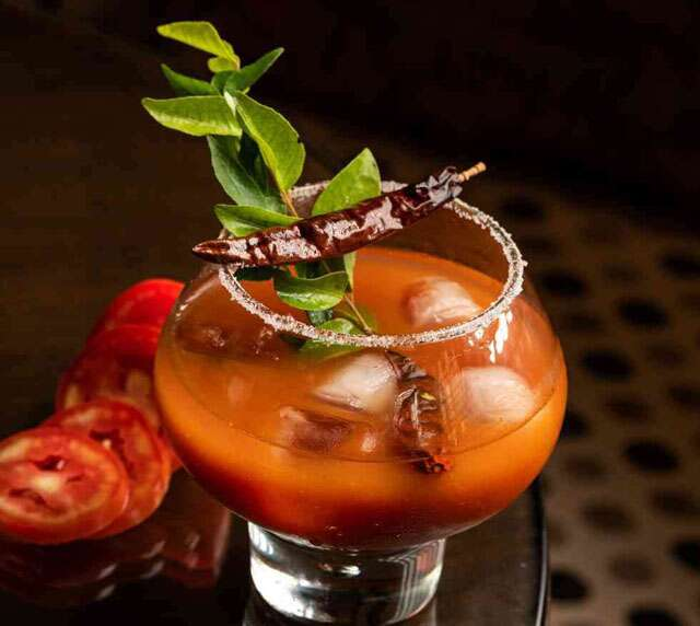 Try warming winter cocktail drinks