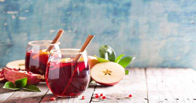 Try Non-alcoholic sangria