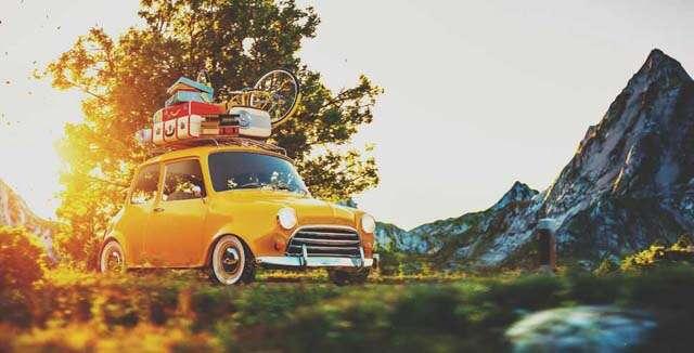 Nine days road trip of Europe